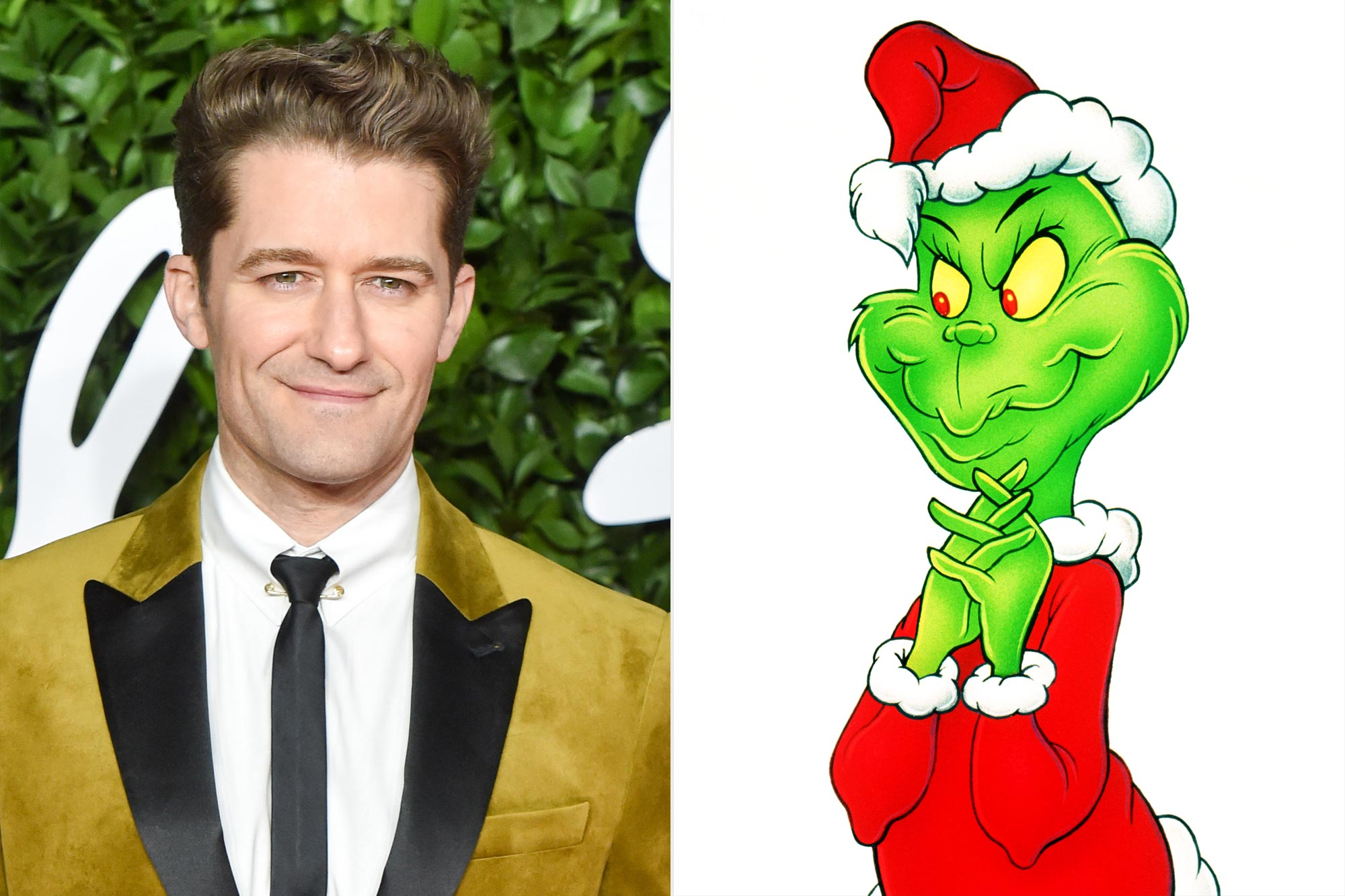 Matthew Morrison; The Grinch