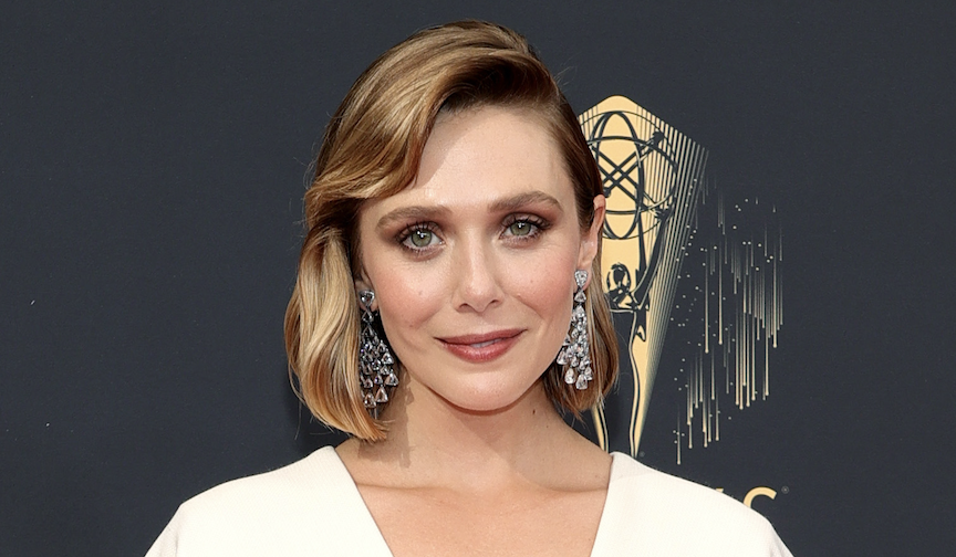 Elizabeth Olsen Wore an Emmys Gown Designed By Her Sisters