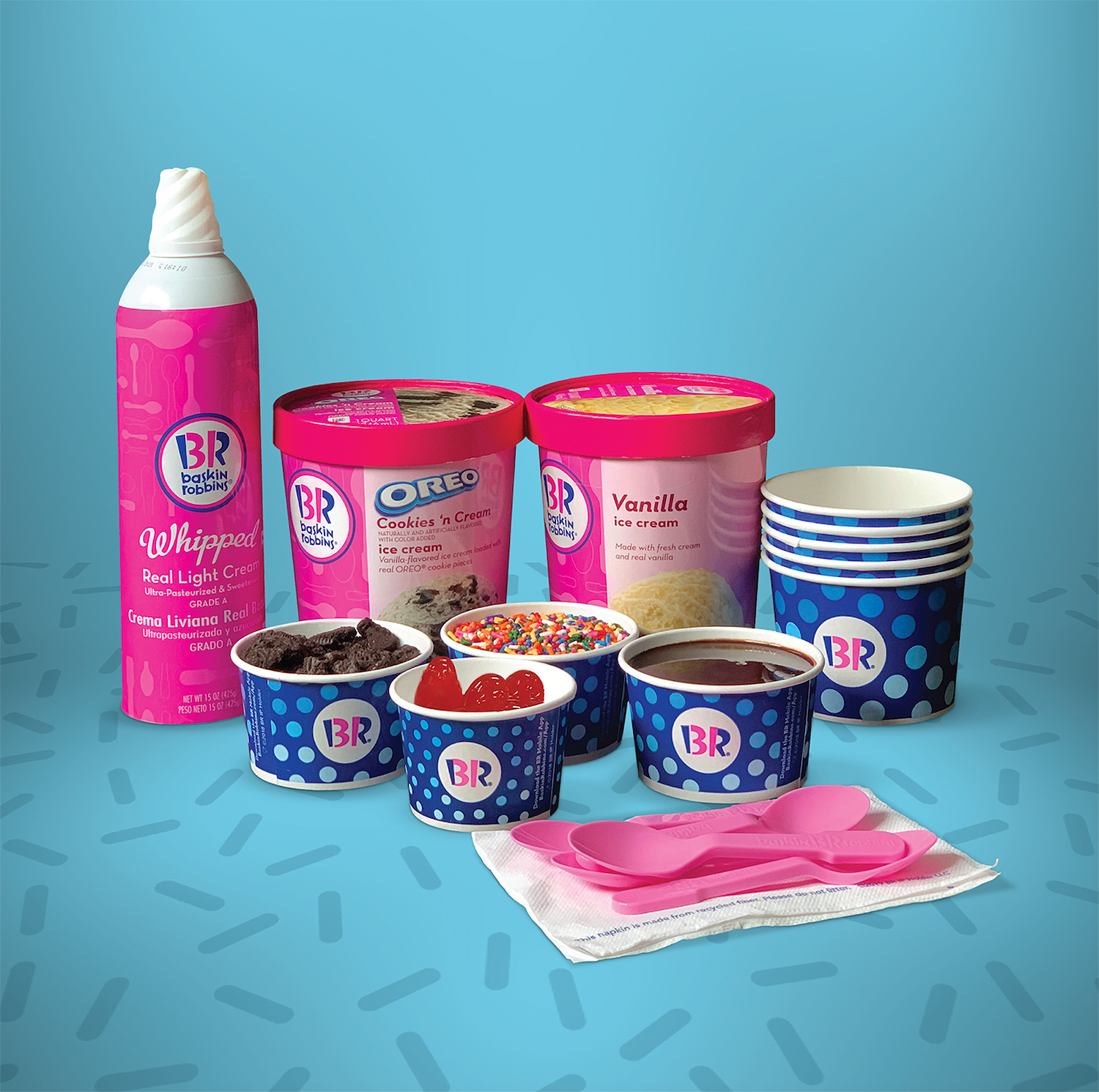 Baskin Robbins DIY kit