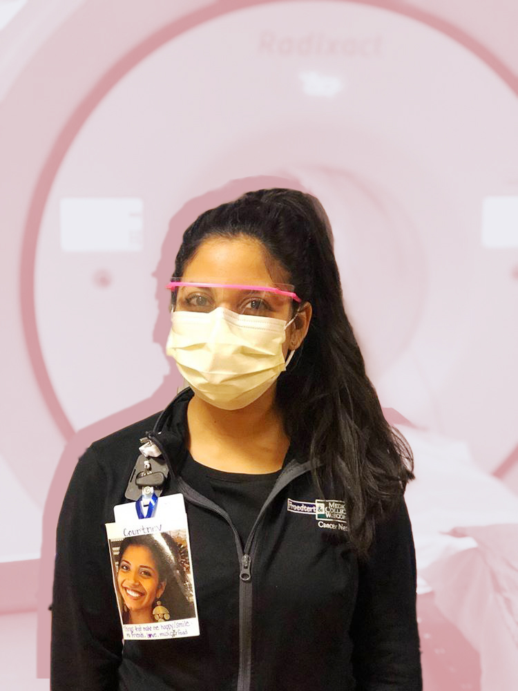 healthcare workers photos on PPE