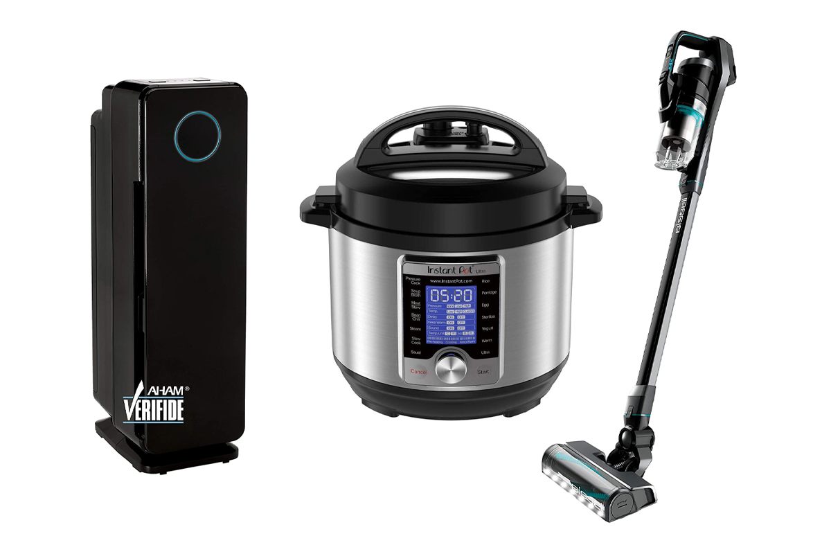Air, Instant Pot, Vacuum
