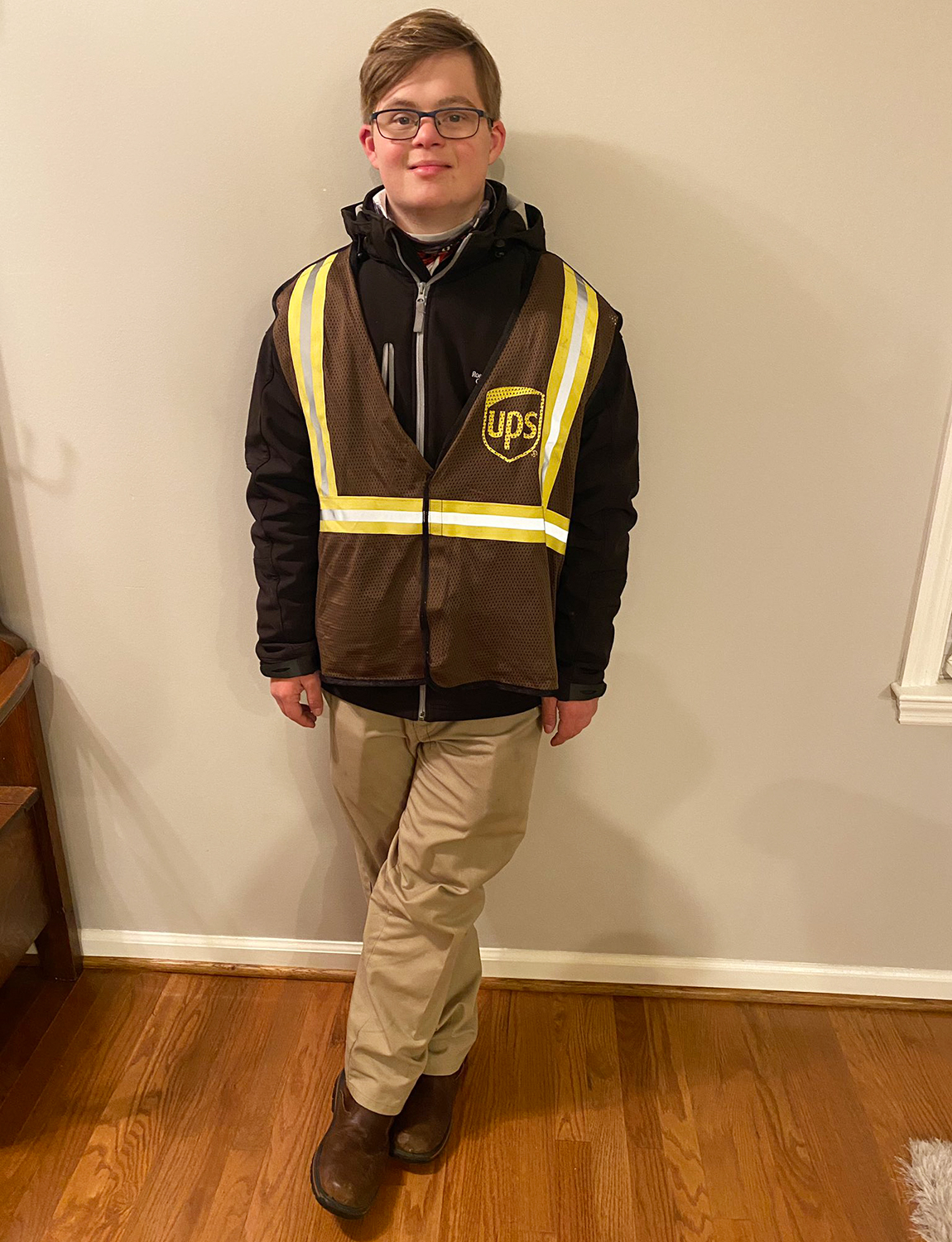 Jake Pratt, a man with Down syndrome who just landed a job with UPS