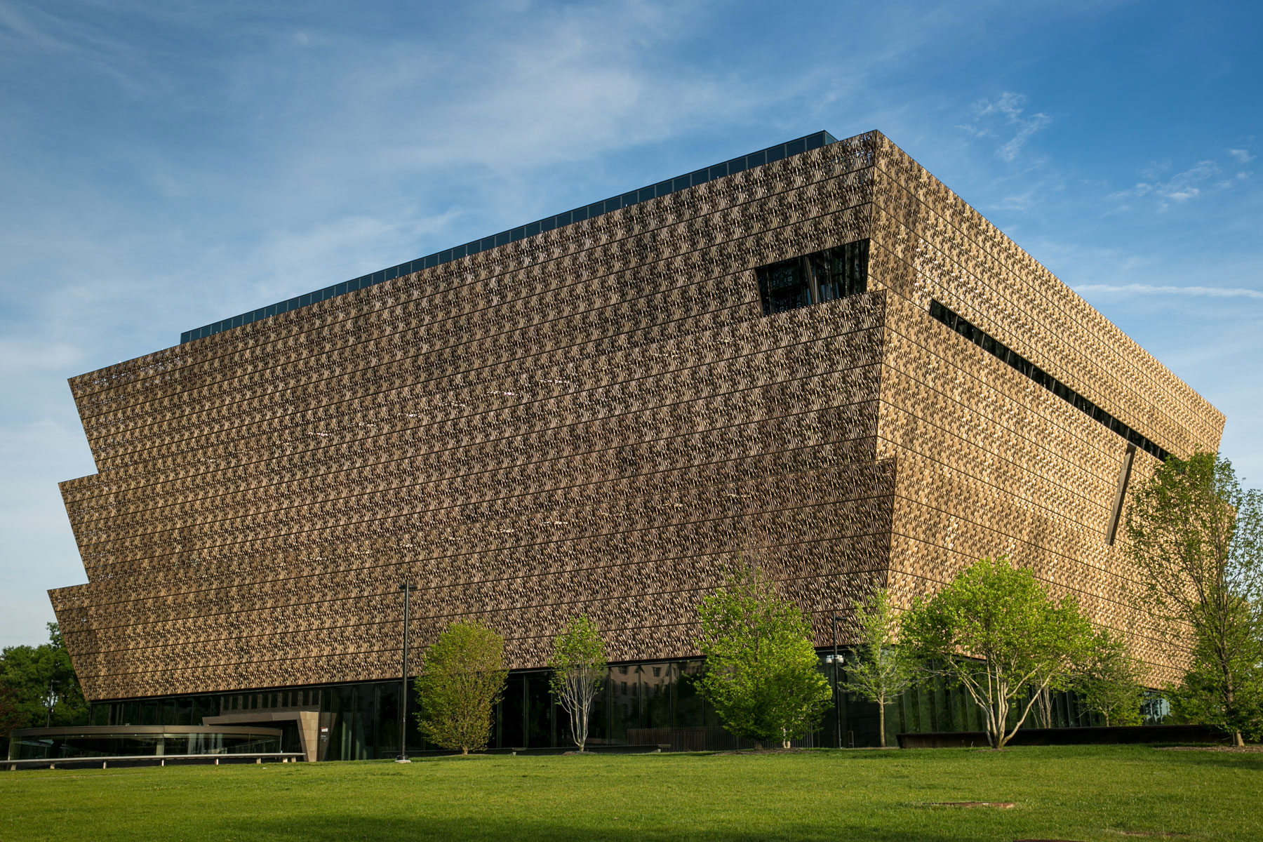 Exterior of National Museum of African American History