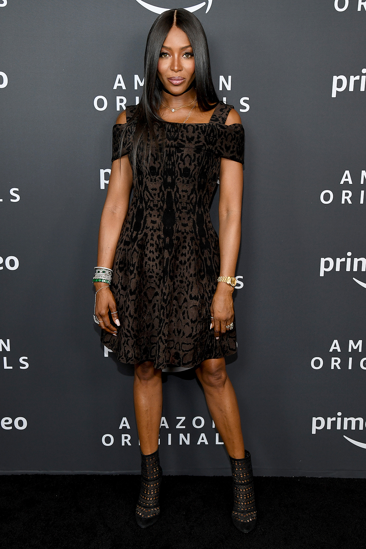 Naomi Campbell attends the Amazon Studios 2020 Winter TCA Press Tour at Langham Hotel on January 14, 2020