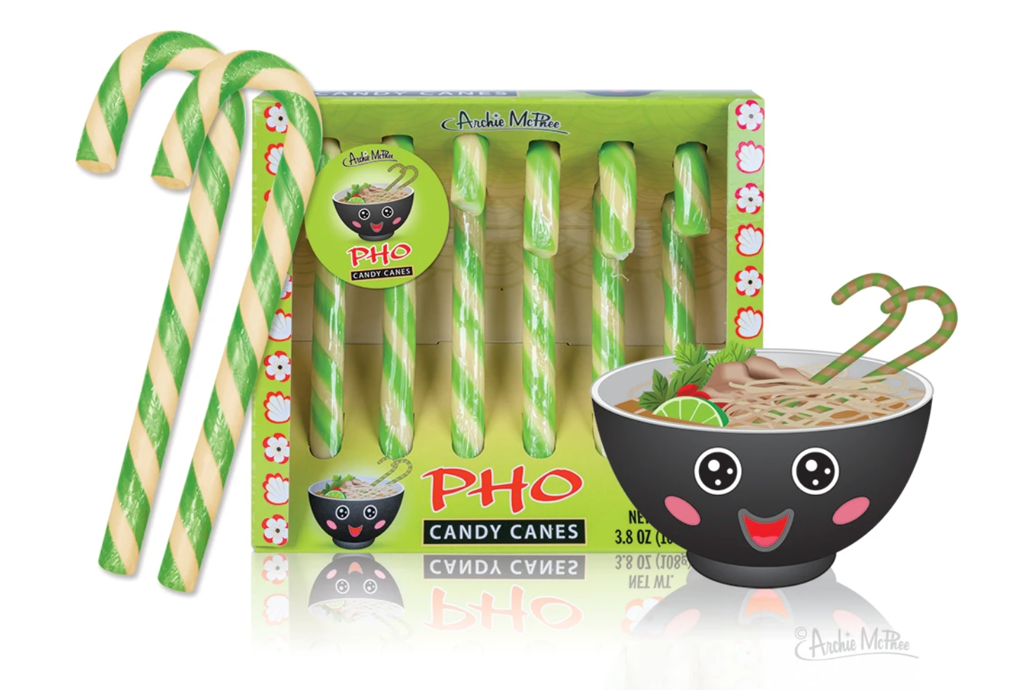 Archie McPhee Pho Candy Canes