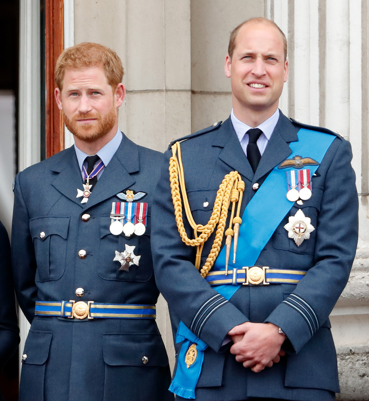 Prince Harry, Duke of Sussex and Prince William, Duke of Cambridge