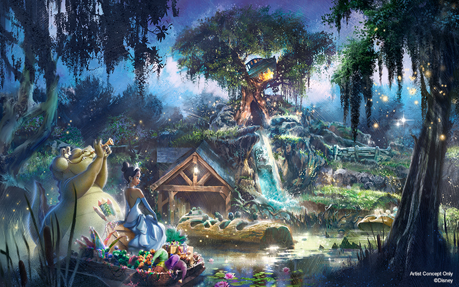 Disney's Splash Mountain Will Be Reimagined With Princess and the Frog