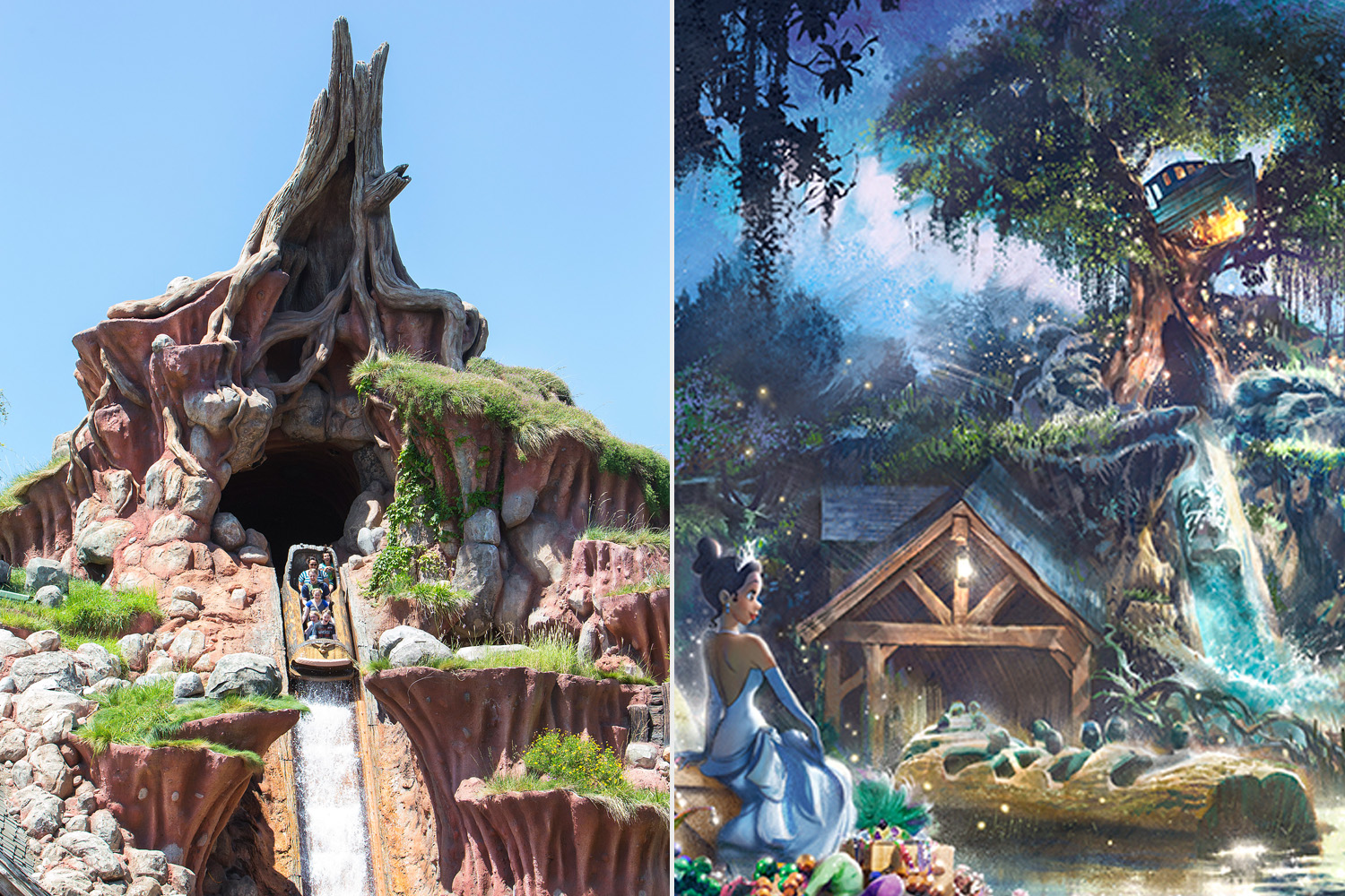 Splash Mountain; Reimagined With Princess and the Frog