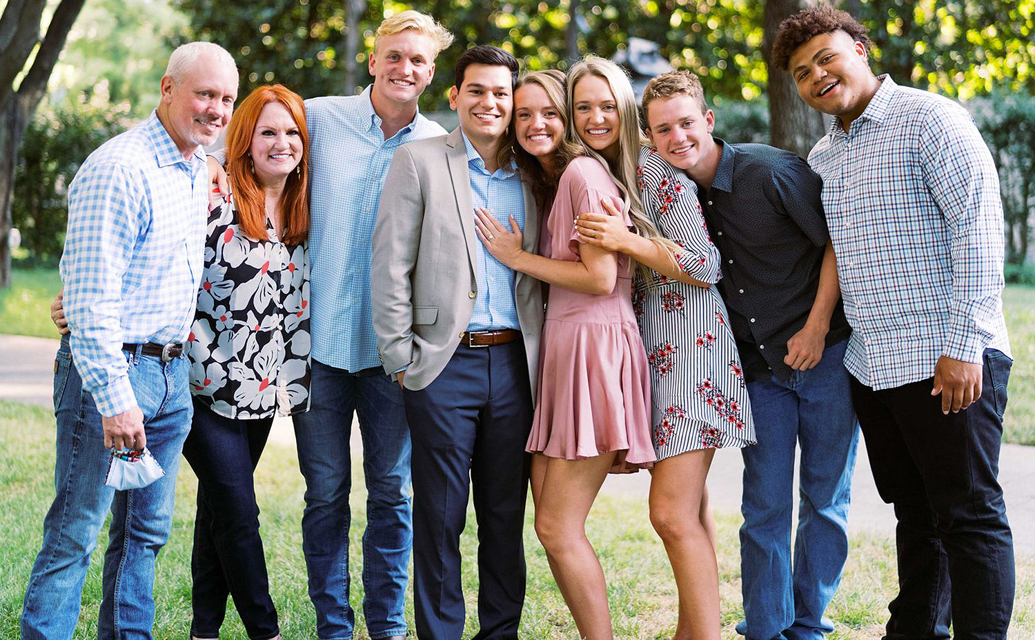 Ree Drummond family