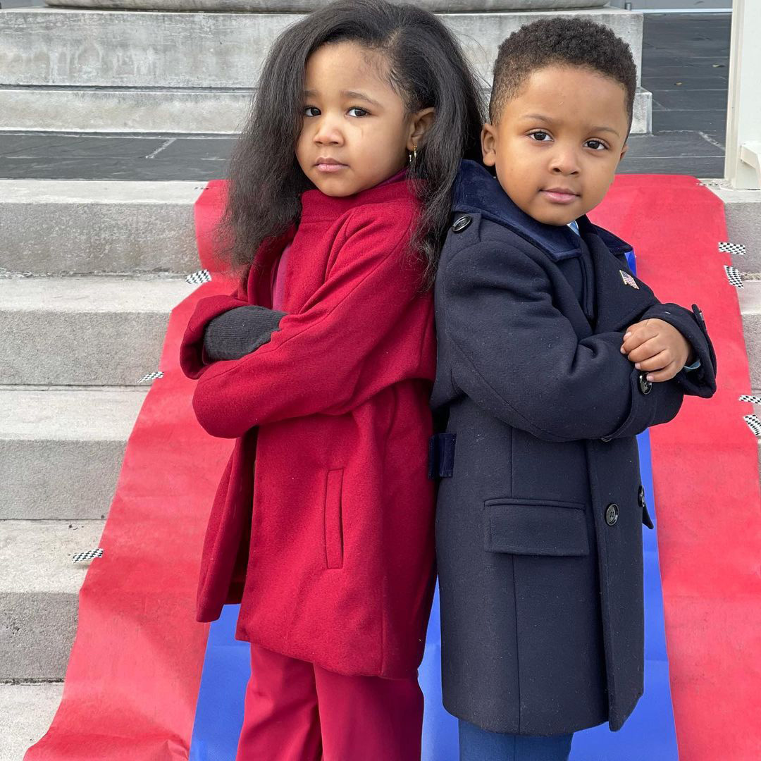 Ryleigh Madison, Barack & Michelle Obama