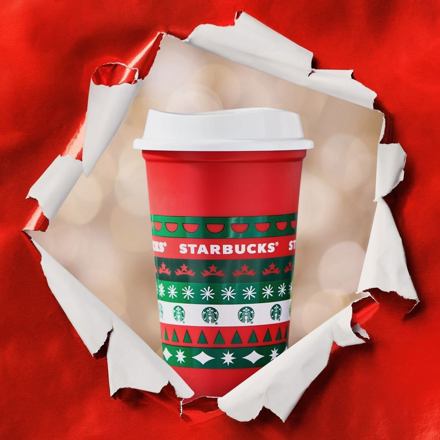 Limited-edition Starbucks Red Cups