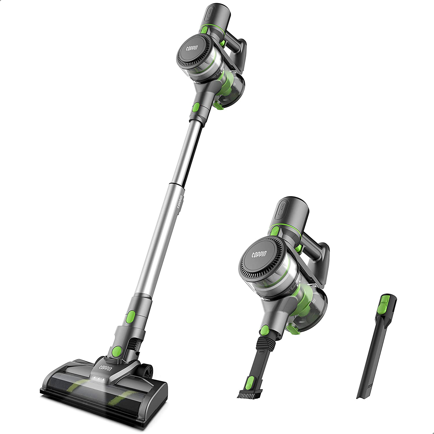 Toppin cordless stick vacuum cleaner