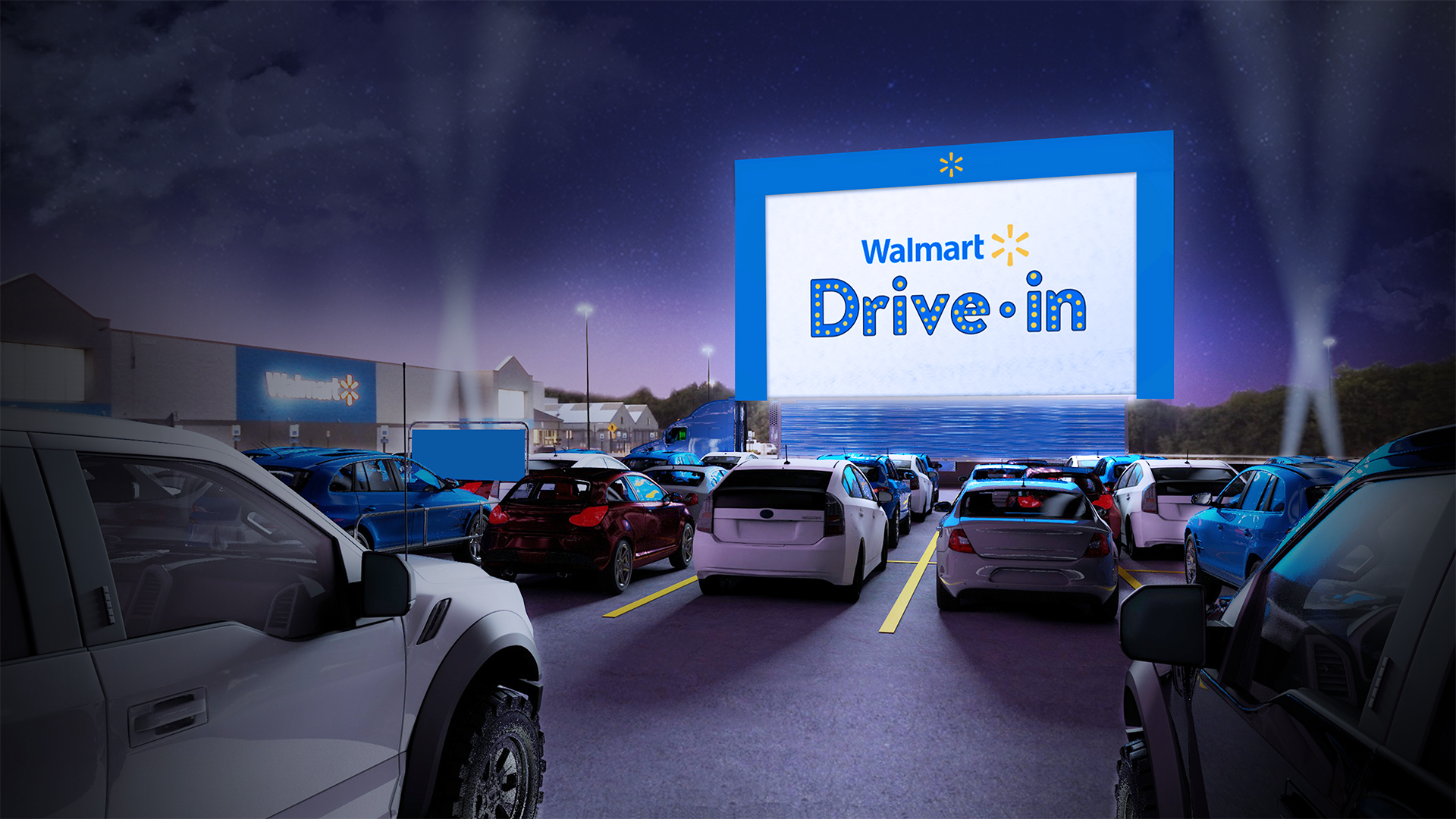 Walmart Drive-in Theater