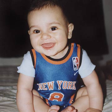 Christopher The New York Basketball Baby