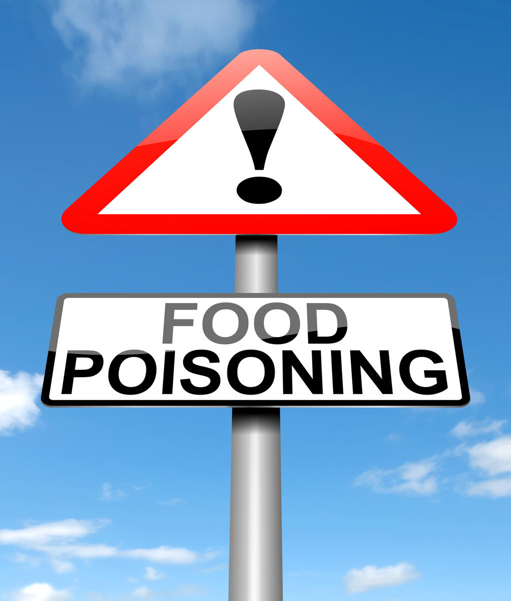 food poisoning sign