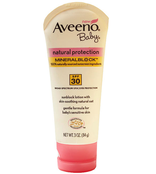 Aveeno Baby Natural Protection Mineral Block SPF 30