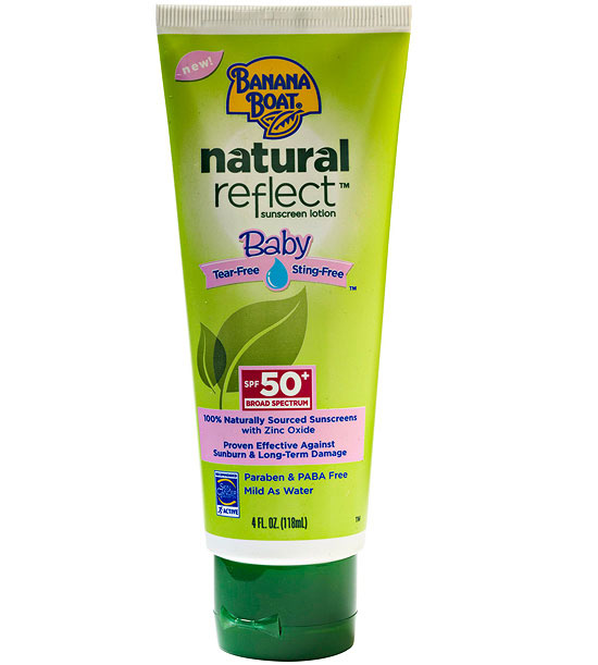 Banana Boat Baby Natural Reflect Sunscreen Lotion SPF 50 Plus