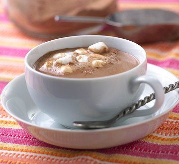 Trade Holiday Bubbly for Hot Chocolate