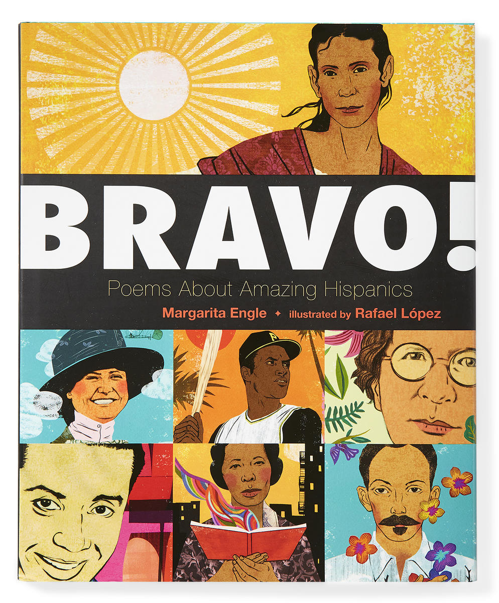 Bravo Poems About Amazing Hispanics by Margarita Engle Book Cover