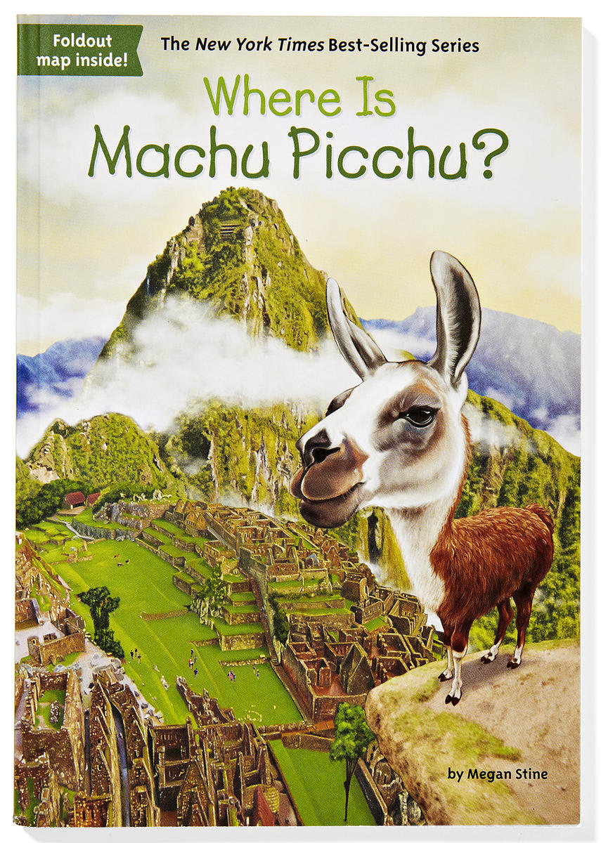 Where Is Machu Picchu by Megan Stine Book Cover