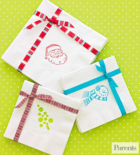 dressed-up napkins