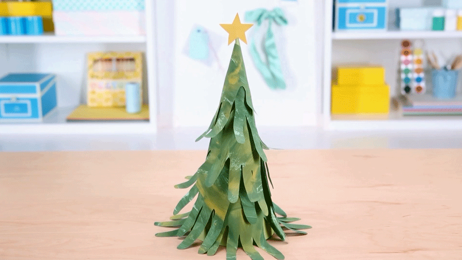 Holiday Craft: Handprint Tree