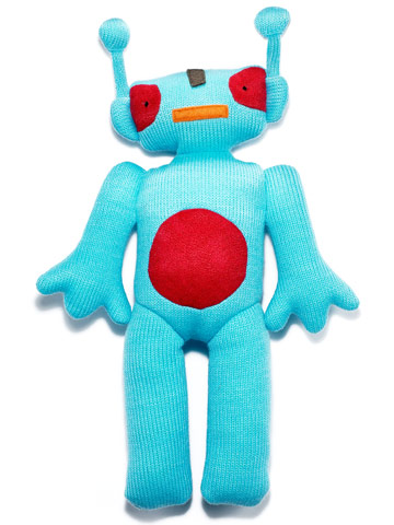plush robot, by Jellycat