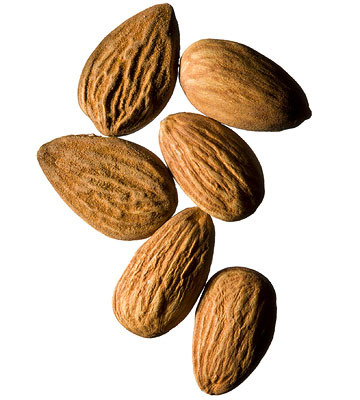Handful of almonds