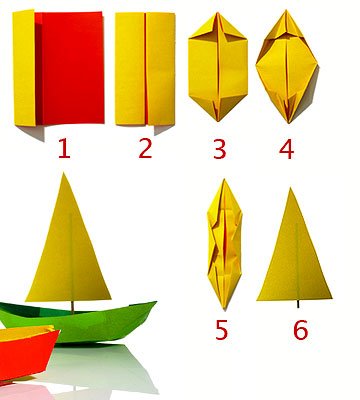 Make a Paper Sailboat