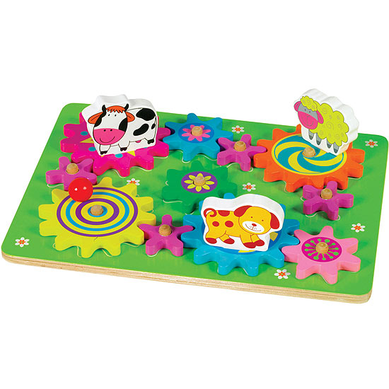 Small World Toys Spin-A-Mals Farm and Safari Puzzles recall