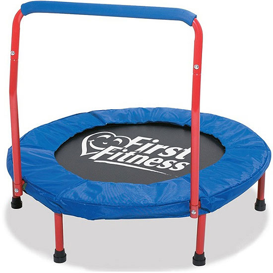 First Fitness Trampolines with Handlebars recall