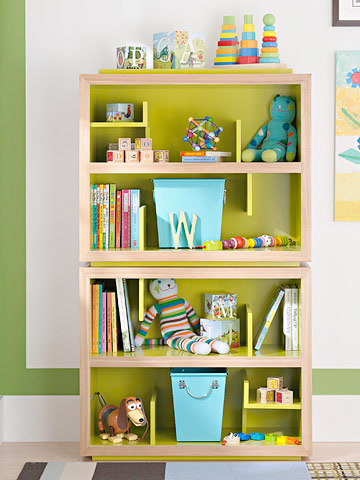 Living Room: Bookcases