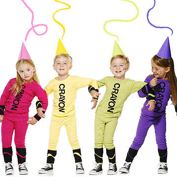Crayons costume