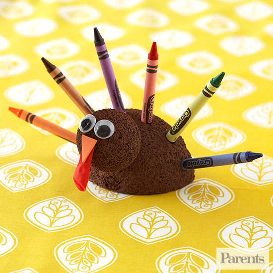 Turkey Crayon Holder