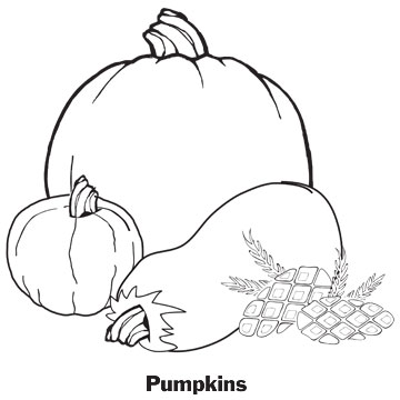 Pumpkins printable