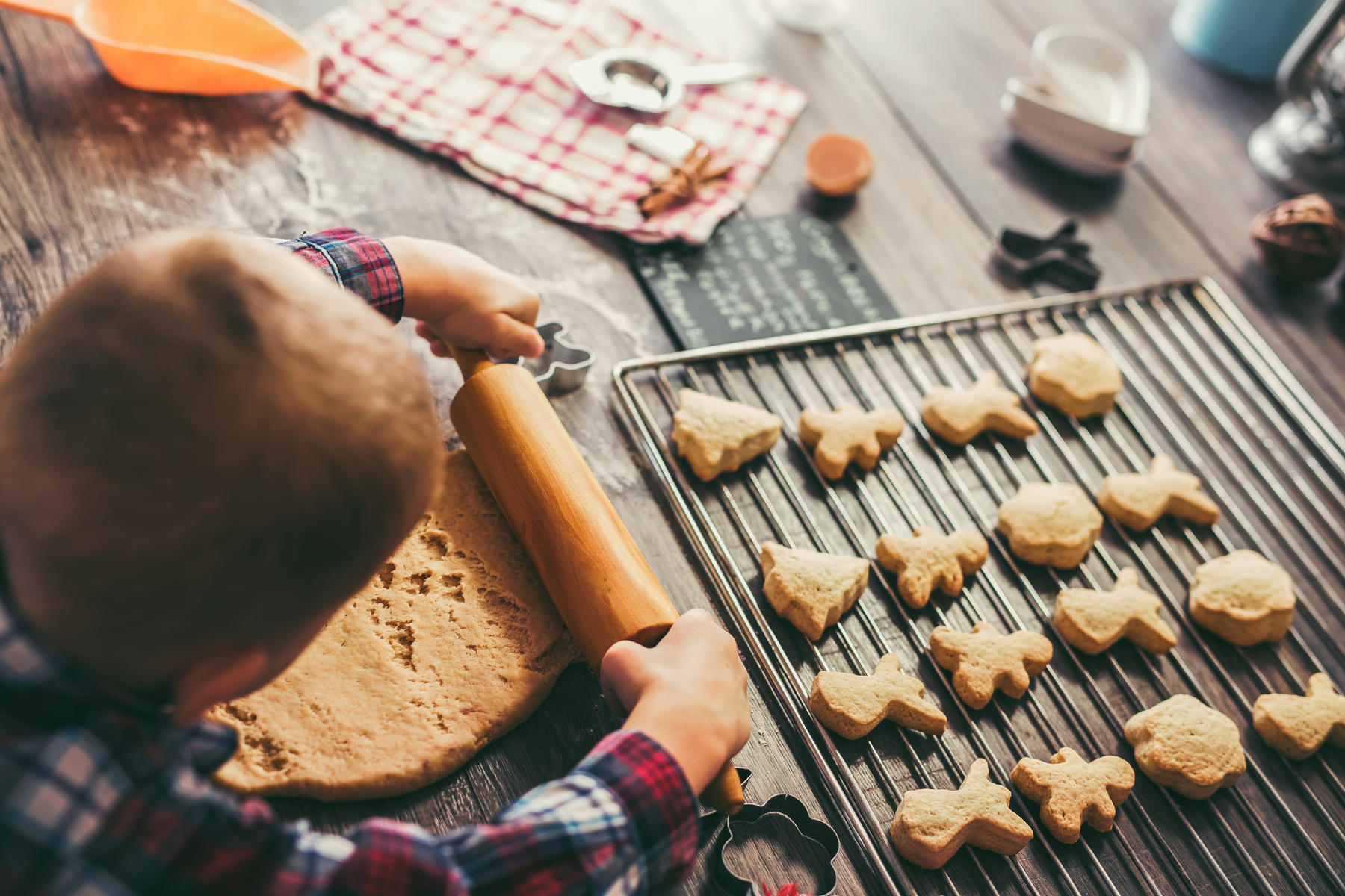 Holiday traditions: baking Christmas cookies