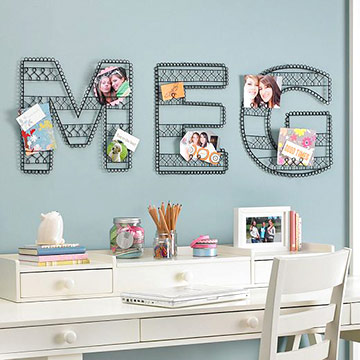 Kids Rooms Trends Wall Letters Pas