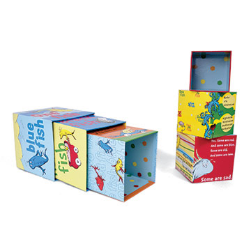 "Dr. Seuss ""One Fish"" Stacking Blocks"