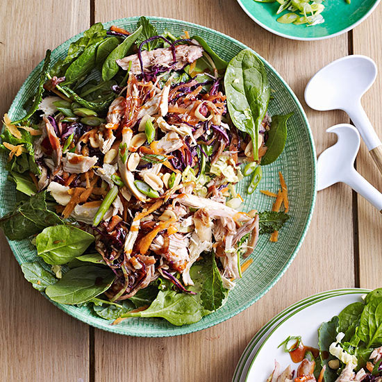 Moo Shu Chicken Salad recipe image