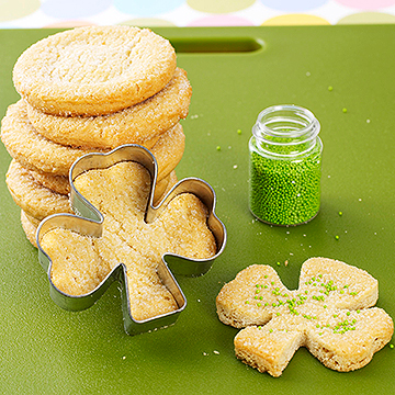 One-Minute St. Patrick's Day Cookies
