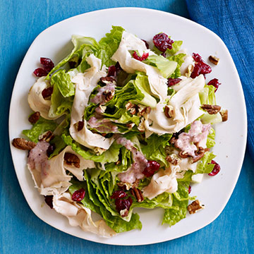 Romaine with Turkey & Dried Cranberries recipe image