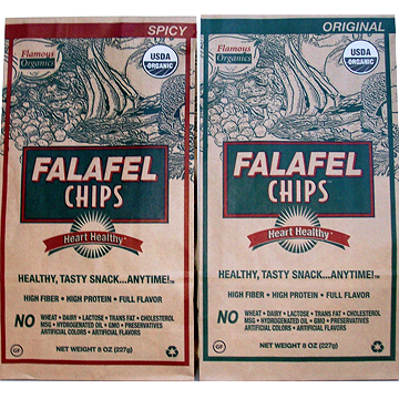 Flamous Falafel chips