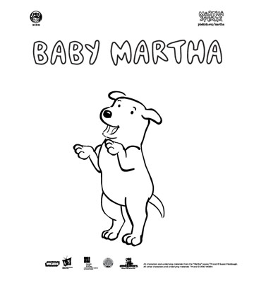 Martha Speaks as a Pup
