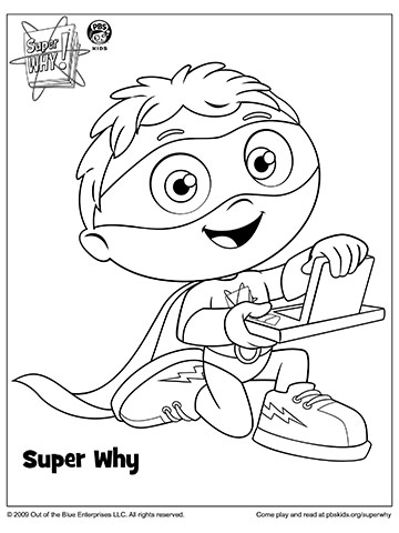 Super Why to the Rescue!