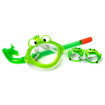 Sizzlin' Cool 3-Piece Dive Fun Set: Frog