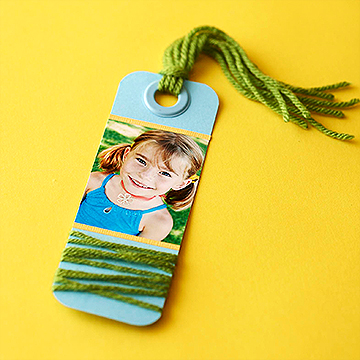 Cute Yarn Bookmark