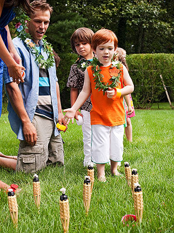 Luau Games: Ring Toss