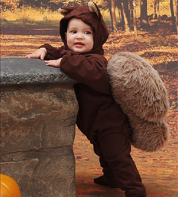 squirrel Halloween costume