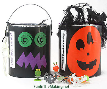Trick-or-Treat Pails