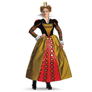 Alice in Wonderland--Red Qeen Costume